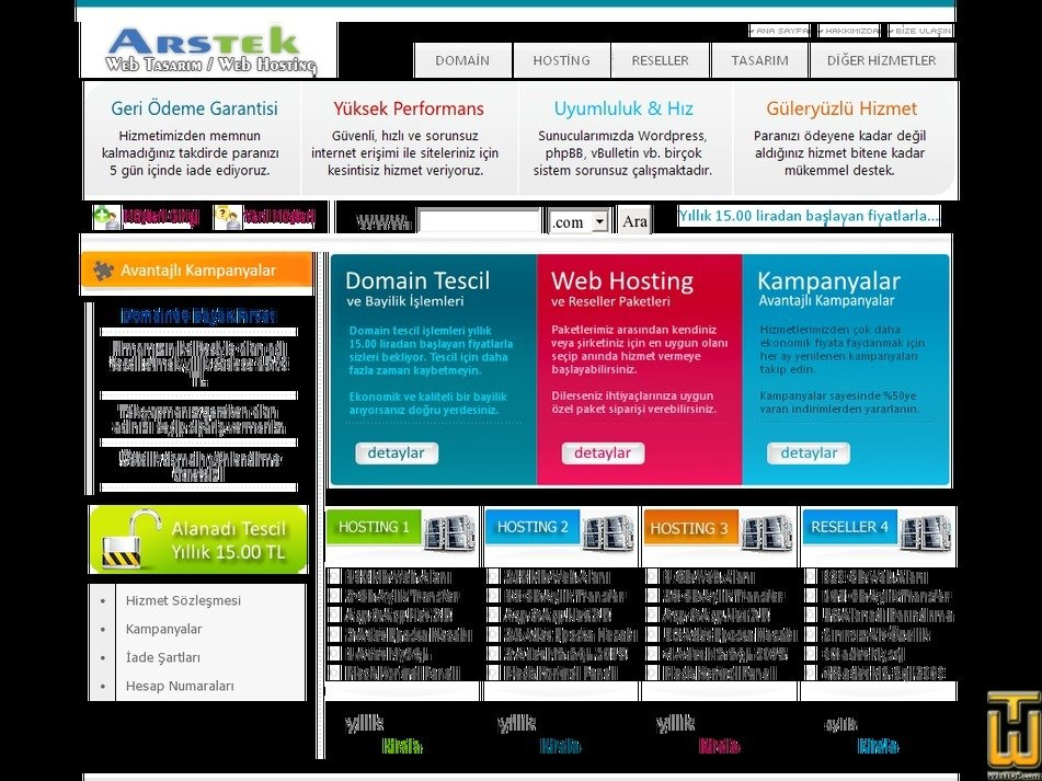 arstek.com Screenshot