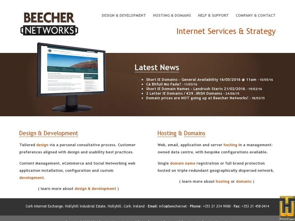 beecher.net Screenshot