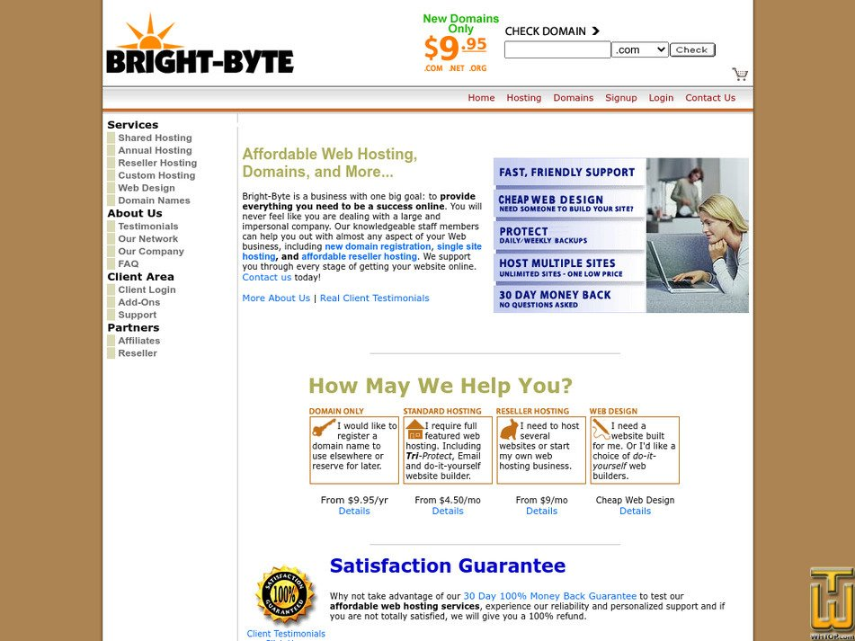 bright-byte.com Screenshot