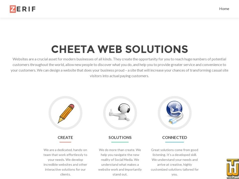 cheetaweb.com Screenshot