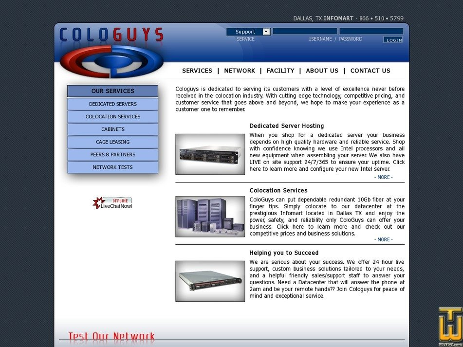 cologuys.com Screenshot
