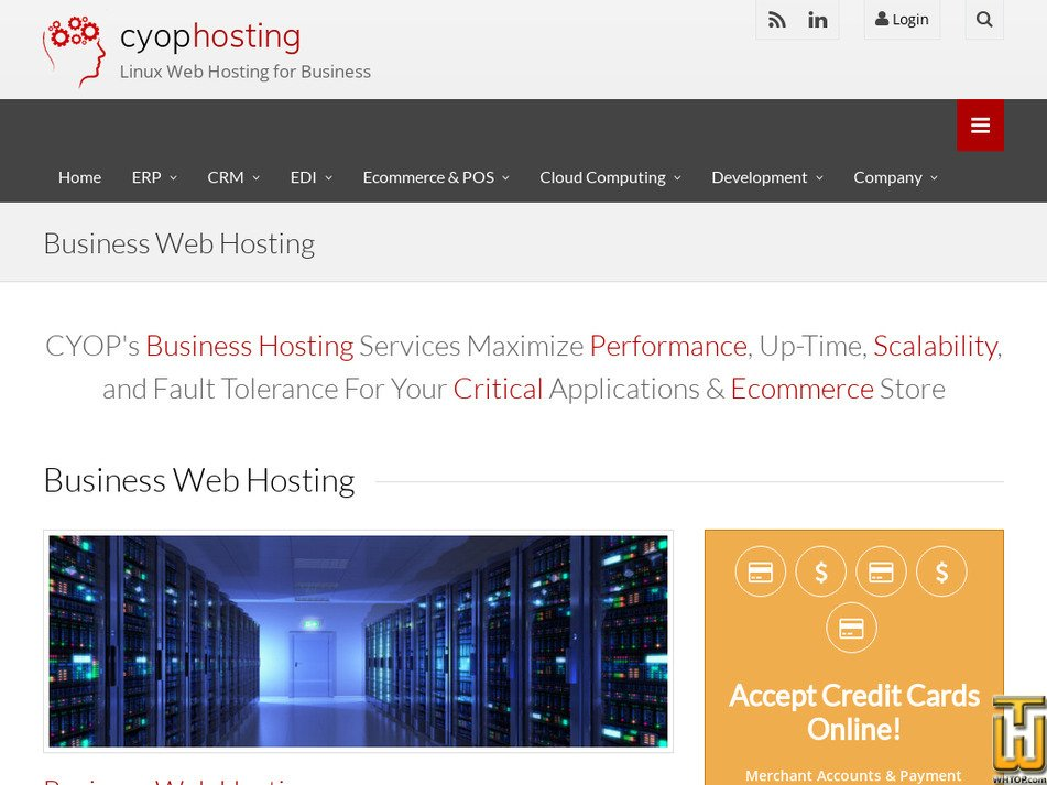 cyophosting.com Screenshot