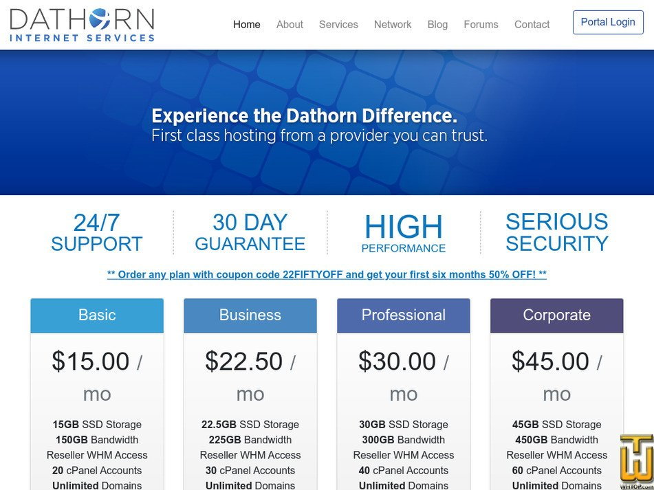 dathorn.com Screenshot