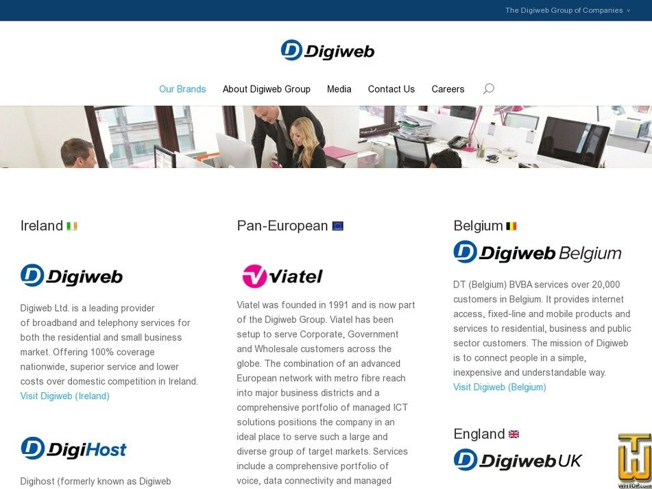 digiweb.com Screenshot