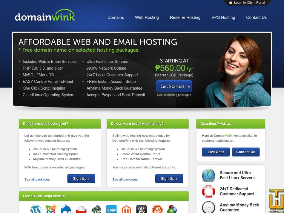 domainwink.com Screenshot