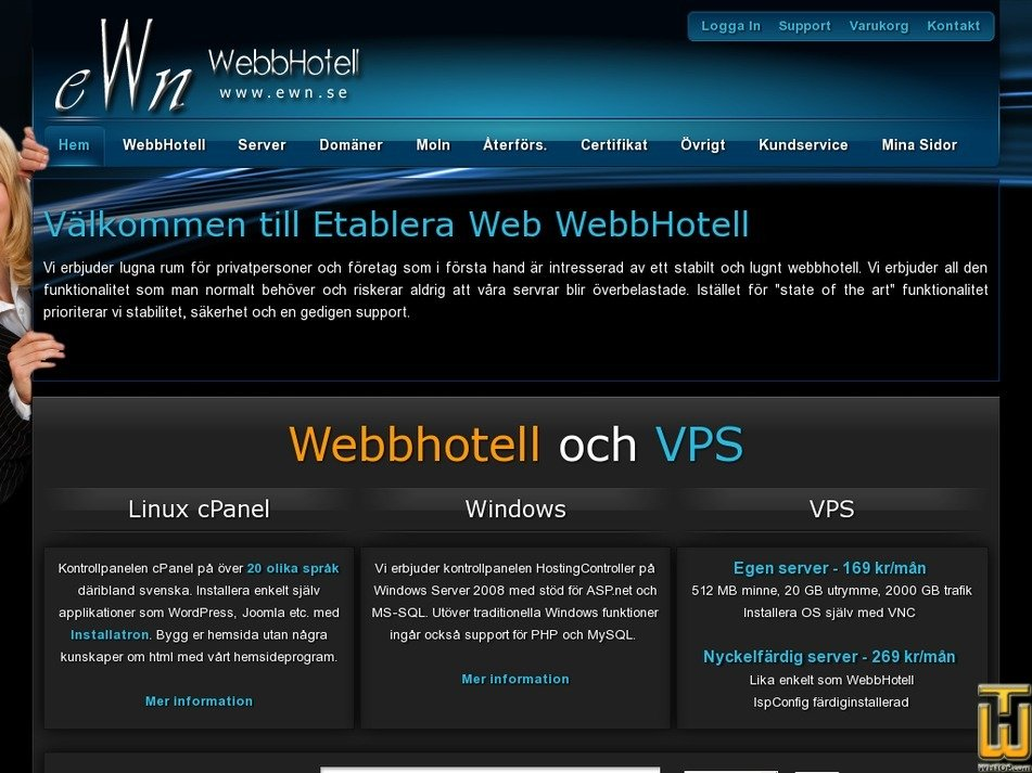 etableraweb.com Screenshot
