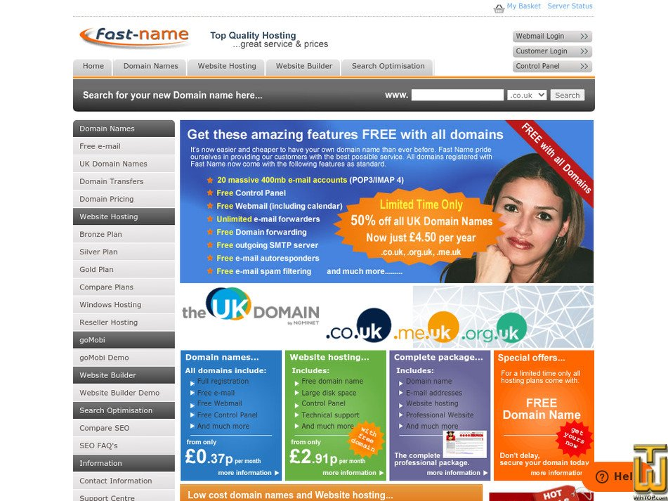 fast-name.com Screenshot