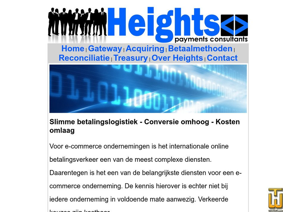 heights.nl Screenshot