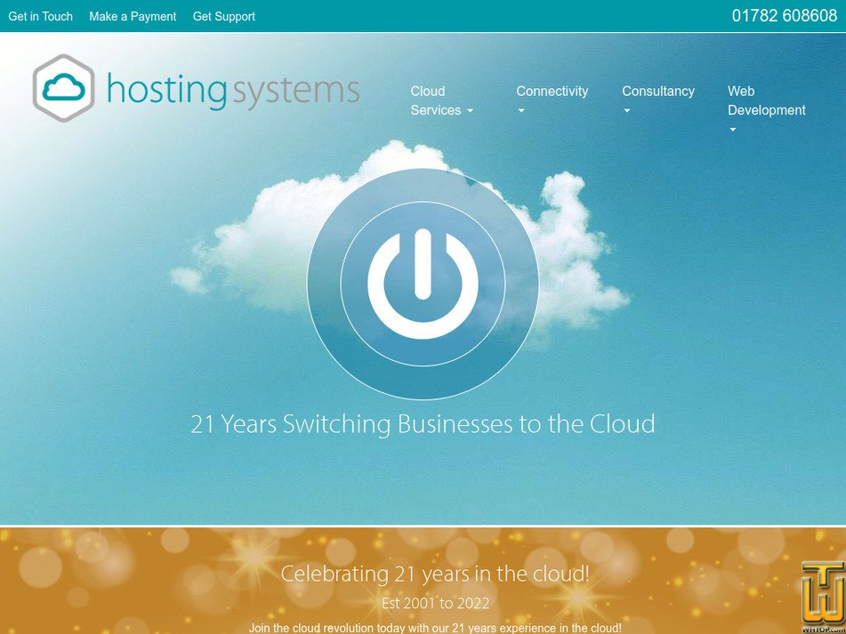 hostingsystems.uk Screenshot