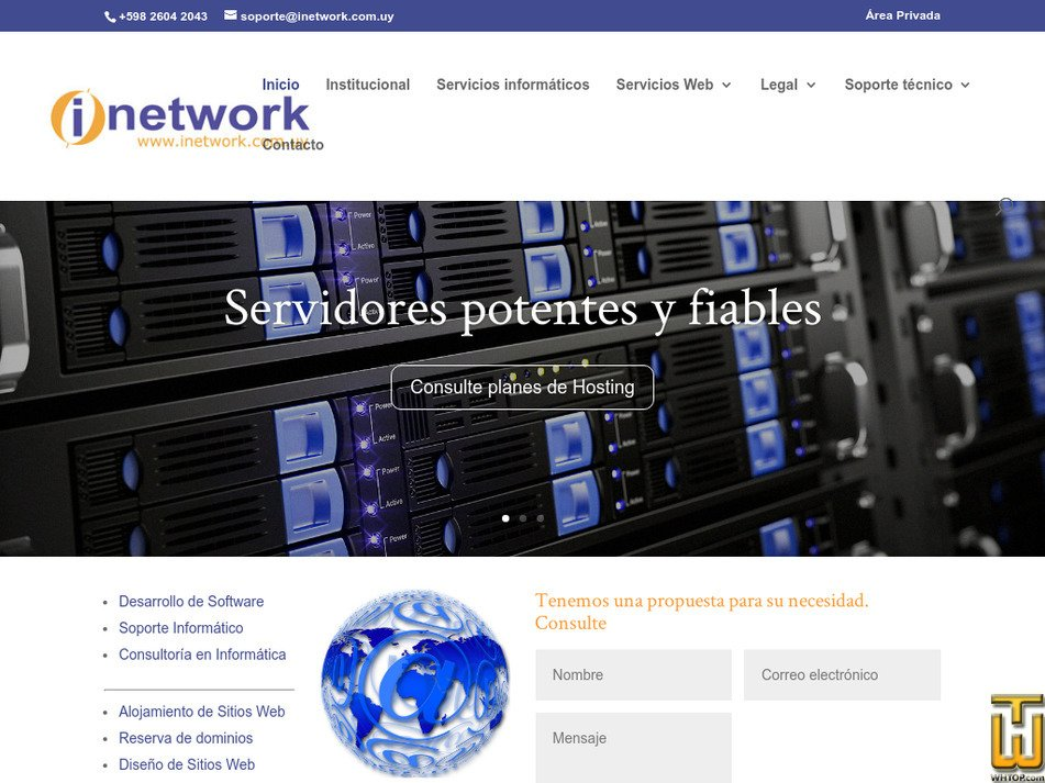 inetwork.com.uy Screenshot