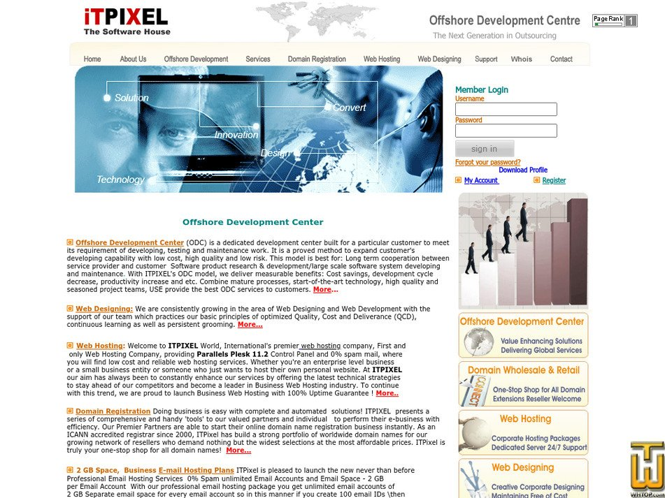 itpixel.com Screenshot