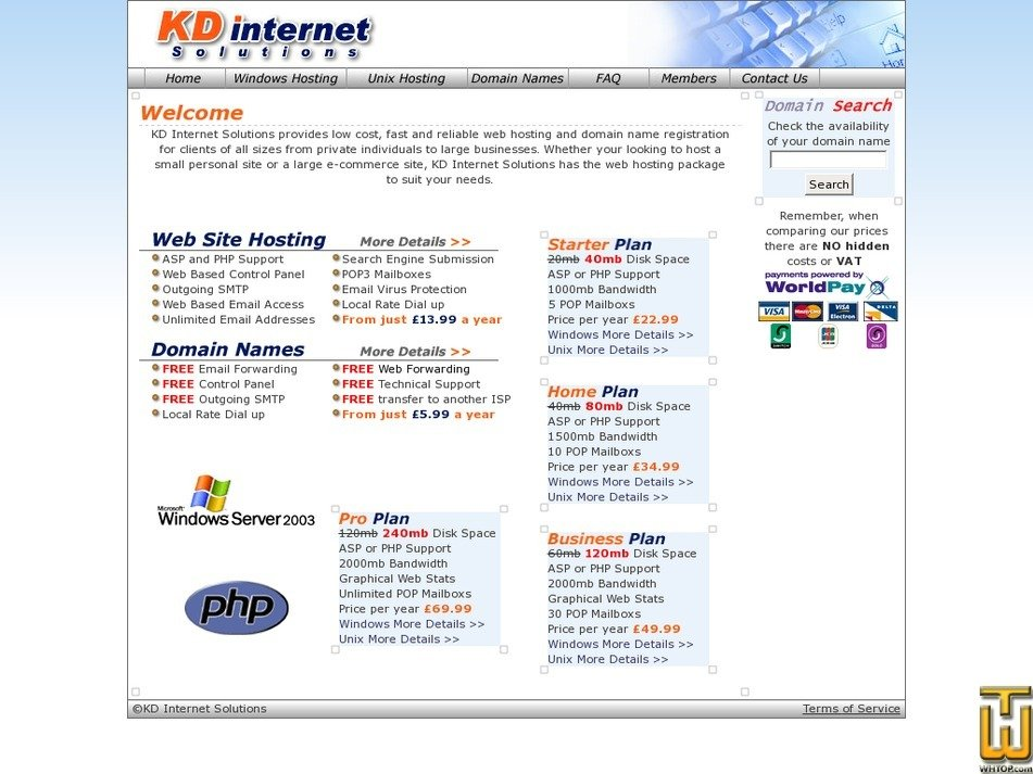 kdinternet.co.uk Screenshot