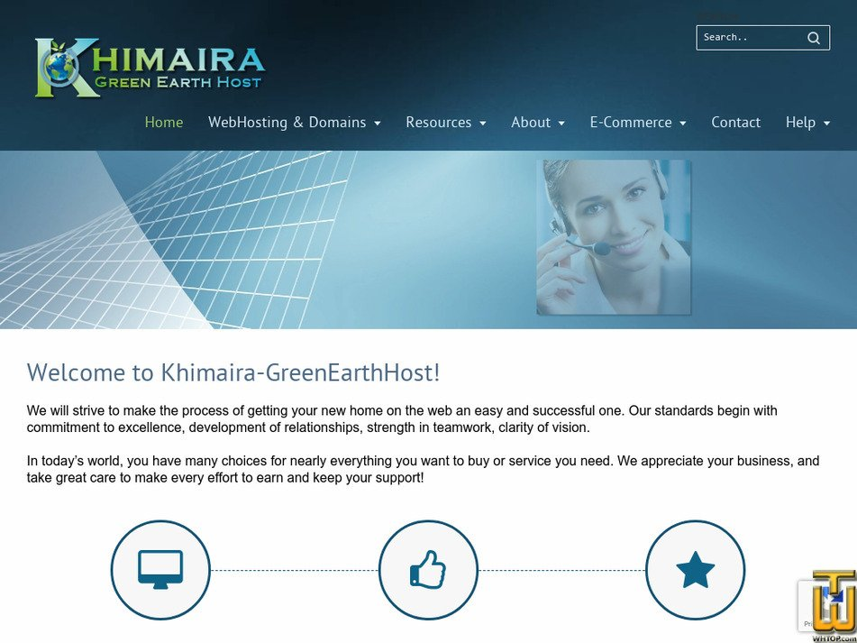 khimaira.com Screenshot