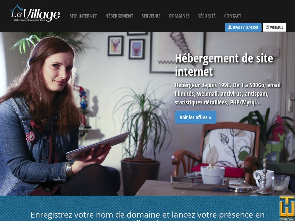 levillage.org Screenshot
