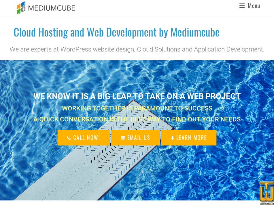 mediumcube.com Screenshot