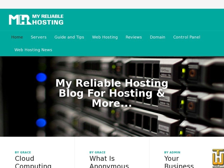 myreliablehosting.net Screenshot