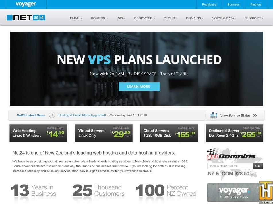 net24.co.nz Screenshot