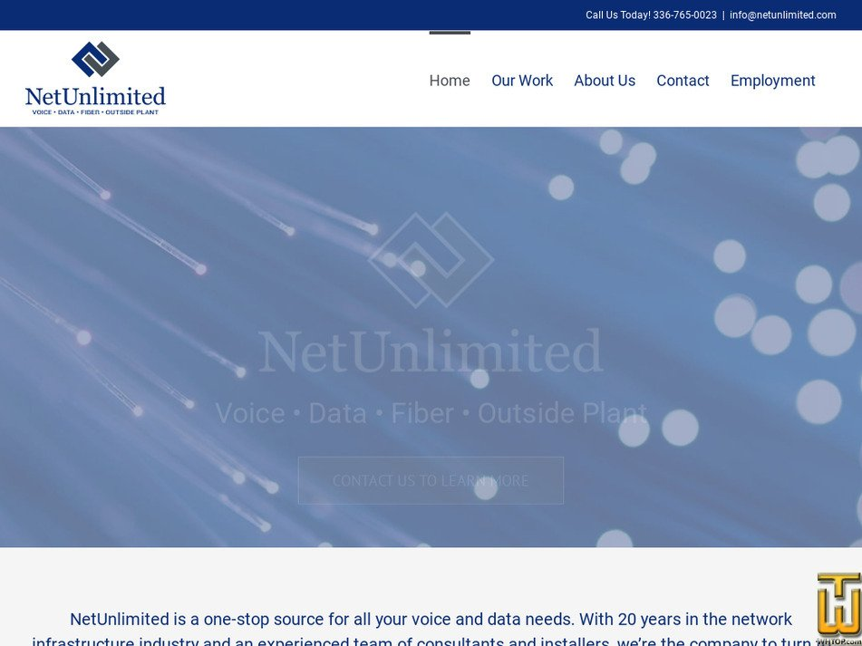 netunlimited.com Screenshot