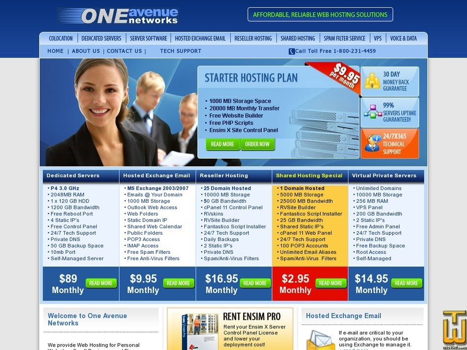 oneavenue.com Screenshot