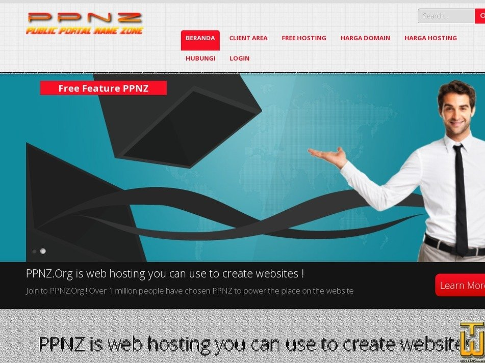 ppnz.org Screenshot