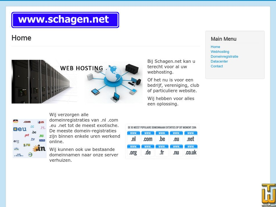 schagen.net Screenshot