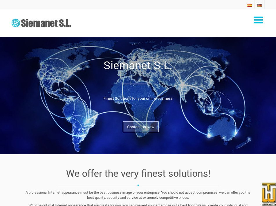 siemanet.com Screenshot