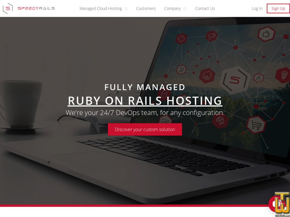 speedyrails.com Screenshot