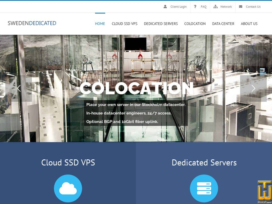 swedendedicated.com Screenshot