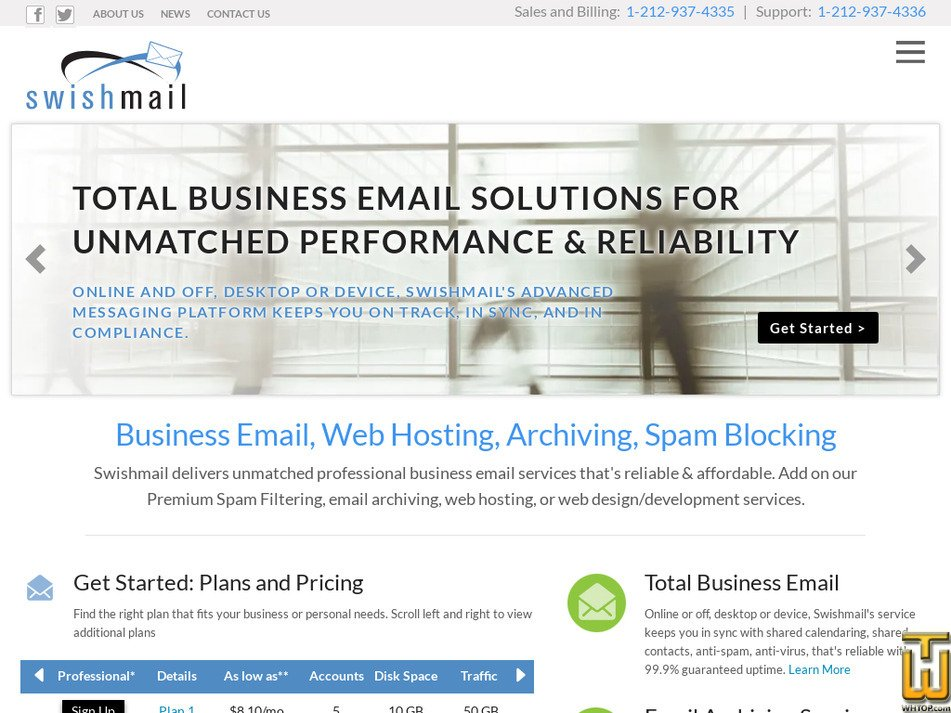 swishmail.com Screenshot