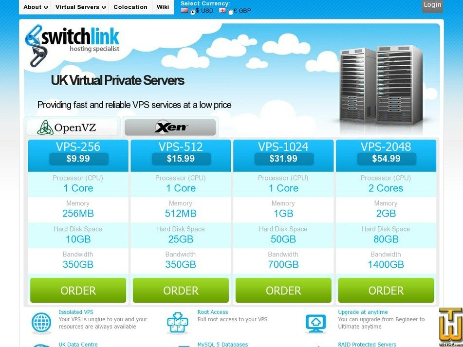 switchlink.co.uk Screenshot