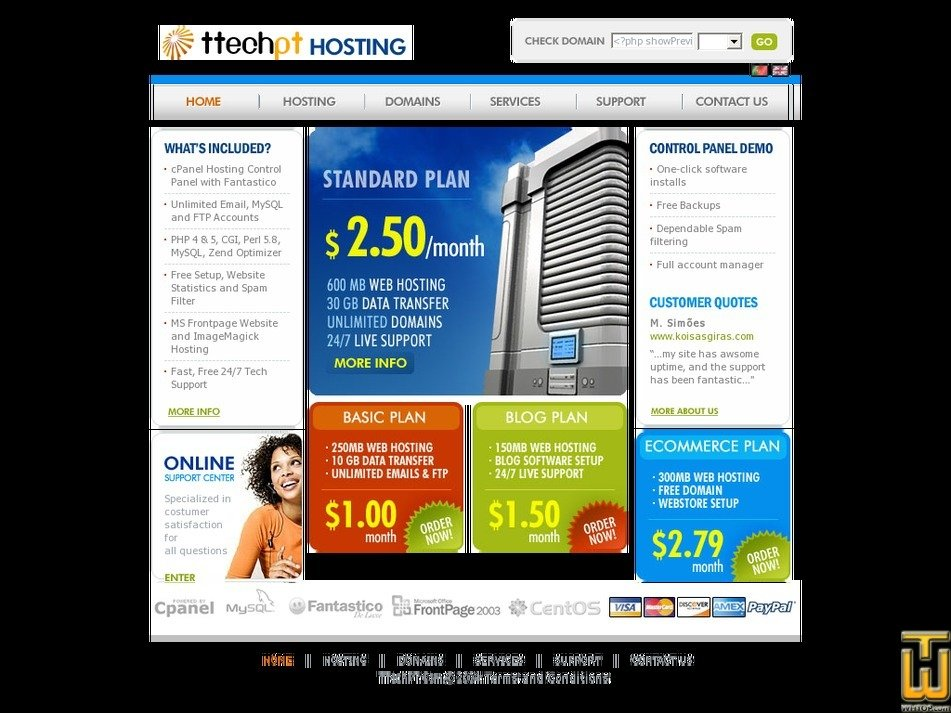 ttechpt.com Screenshot