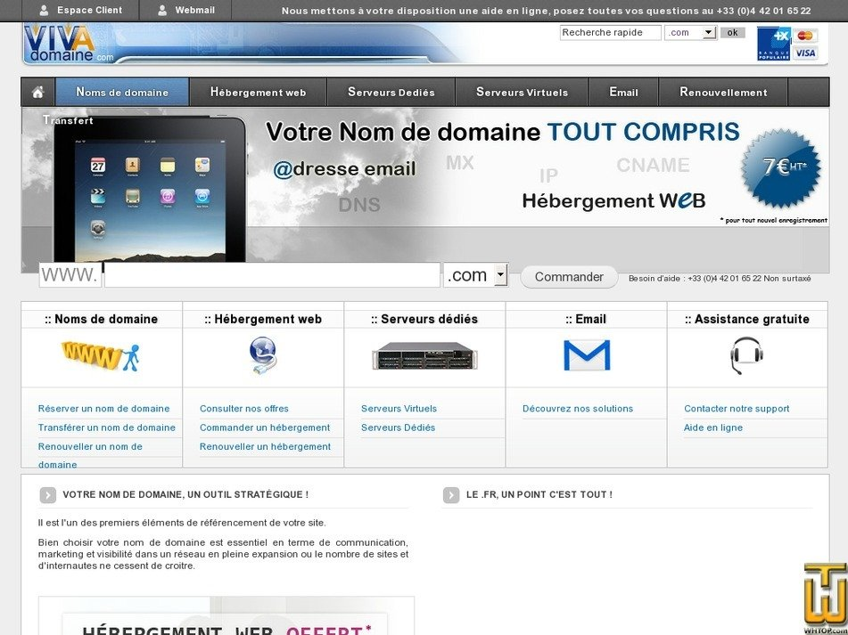 vivadomaine.com Screenshot