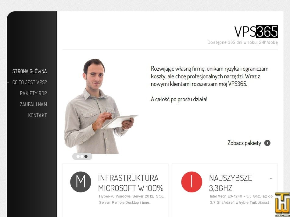 vps365.eu Screenshot