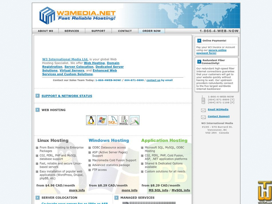 w3media.net Screenshot