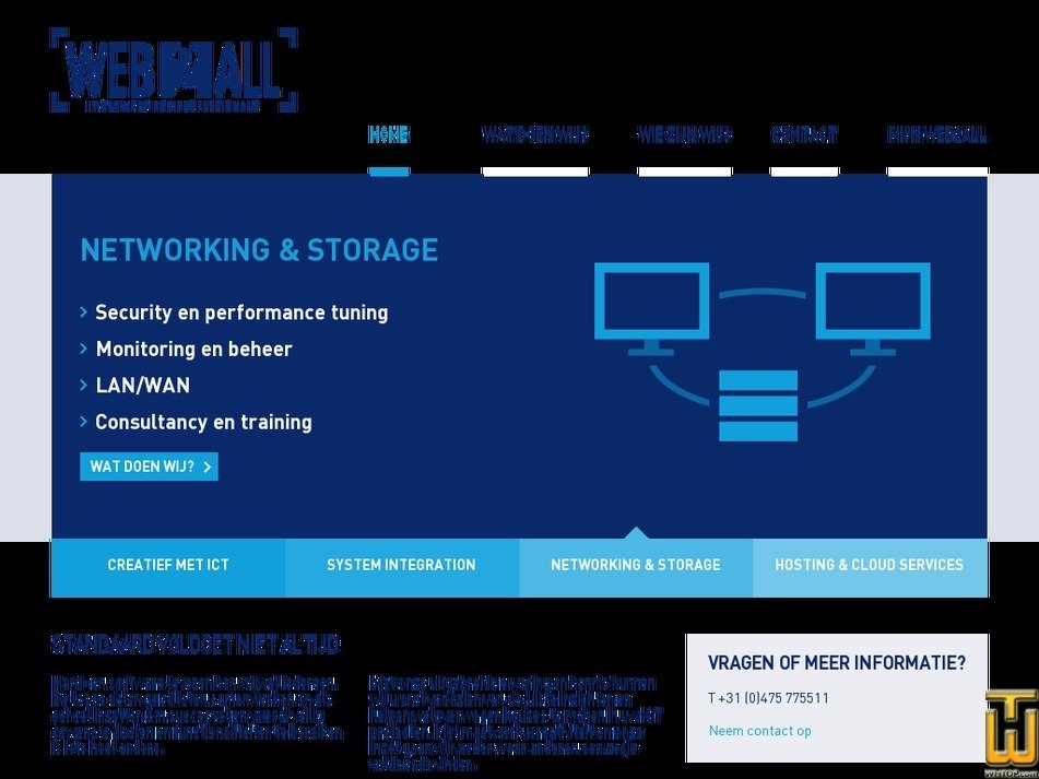 web2all.nl Screenshot