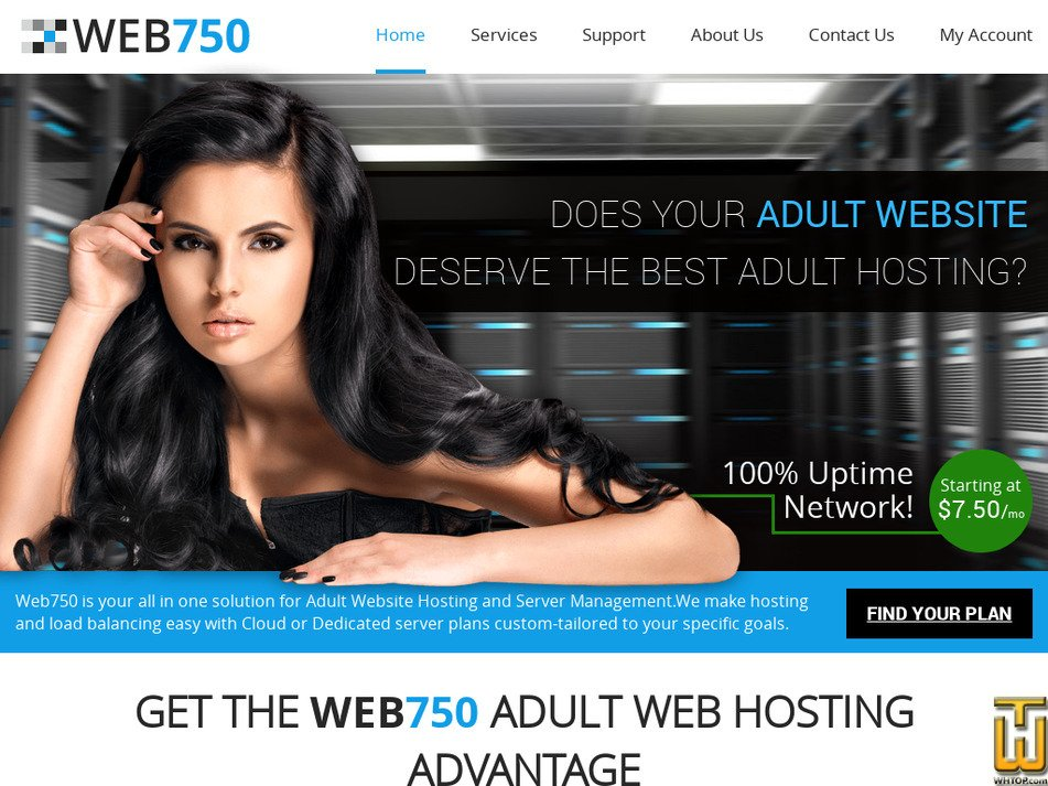 web750.com Screenshot