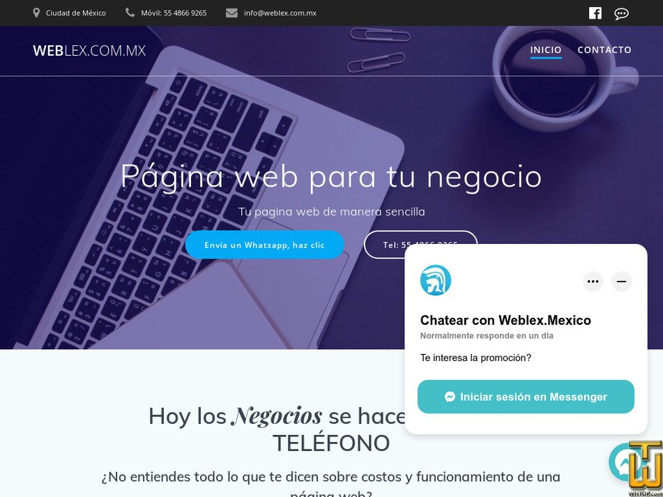 weblex.com.mx Screenshot