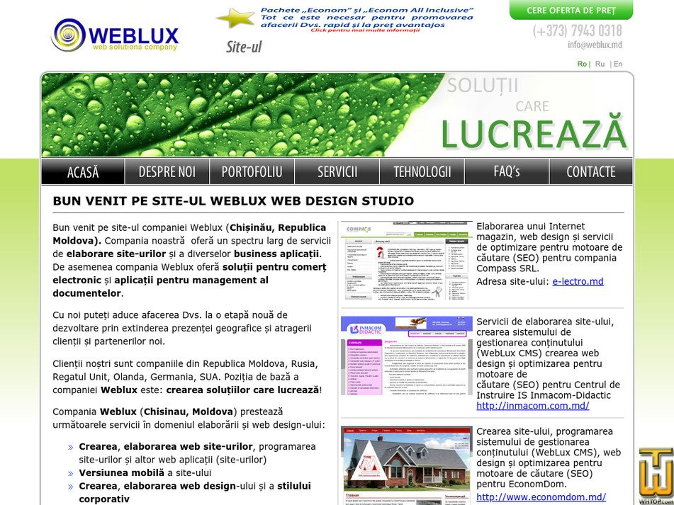 weblux.md Screenshot
