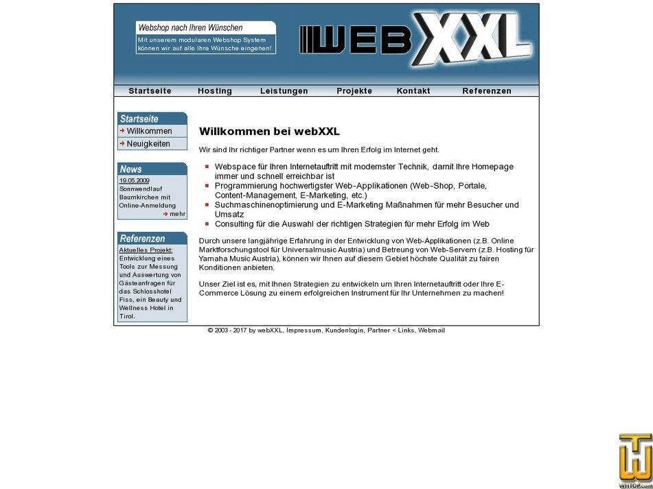 webxxl.at Screenshot