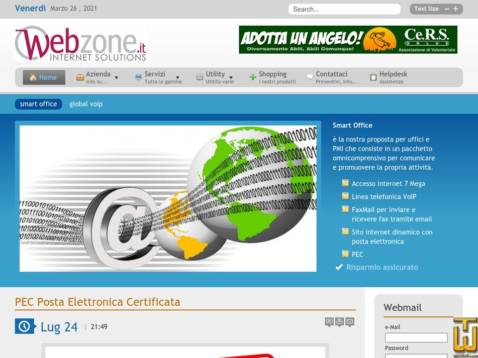 webzone.it Screenshot