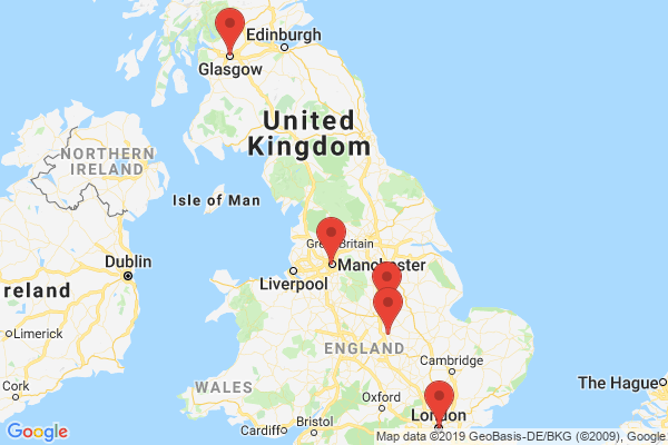 Datacenter locations for hostinguk.net