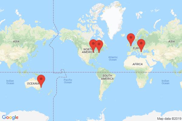 Datacenter locations for hostyd.org