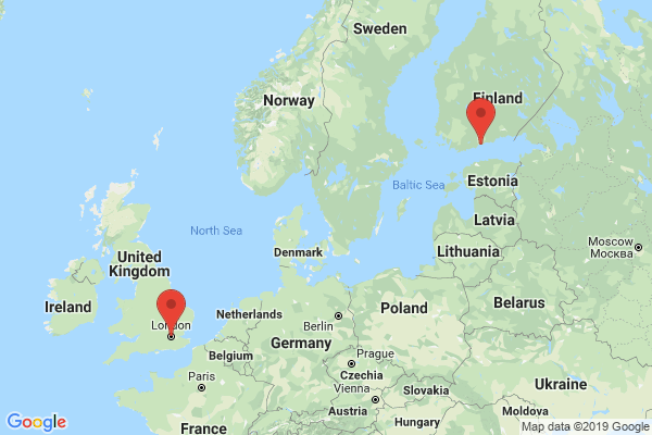 Datacenter locations for nebula.fi