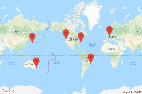 Datacenter locations for pagely.com