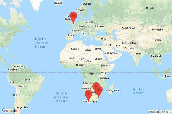 Datacenter locations for rsaweb.co.za
